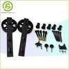 Powder Coated Sliding Barn Door Hardware Door Fittings