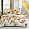 Wholesale 100% Cotton Colorful Quilt Bedding Set