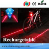 Bicycle LED Laser Tail Rear Light