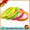 Custom Screen Printing Silicone Wristband (TH-0350)