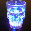 LED Flashing Skull Cup Beer Mug 14oz