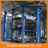 Four Post 3 Floors Hydraulic Car Stacker Parking Lift