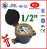 Single Jet Liquid-Sealed Type Pn 10 Class B Water Meter