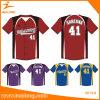 Healong Hot Sale Sportswear Sublimation Printing Baseball Buttons Jersey