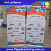 Easy to Take and Install Polyester Advertising Flex Banner Stand