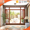 4 Panels Thermal Break Aluminium Bifold Glass Windows