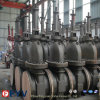 API 6D Gas Wcb Flat Gate Valve with Gear