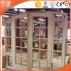 Arched/Round Top Window with Colonial Bars, Imported Solid Pine Wood Window, Ultra Large Special Shape Wood Window with Grille Design