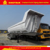 Tri-Axle U Type Dump/Tipper Semi-Trailer for Sale