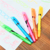 The Solid Fluorescence Pen Gel Highlighter Marker Pen