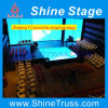 Stage Truss, T- Stage for TV Broadcast, DJ Music Performance