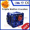 Rock Crusher Triple Roll Crusher Grinding Machine Stone Crusher