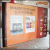 Hot Sale Custom Pop up Shelving Booth