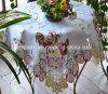 Chicken Design Easter Table Cover St120