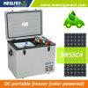 AC DC Portable Camping Mini Compressor Solar Fridge Freezer