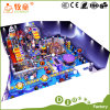 Soft Indoor Playground Prject Turkey Ocean Style and Kids Playground Fiberglass Slide Obstacle Game