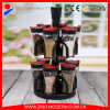 Hot Sales 2 Tiers Clear 12PC Spice Jars with Rack Wholesale