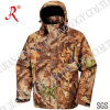 Camouflage Soft Shell Jacket for Hunting (QF-405A)