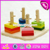 New Design Children Preschool Sorting Blocks Wooden Shape Sorter W13D123
