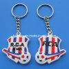 Football Design Rubber Key Chain (BOX-LUK PVC key chain-055)