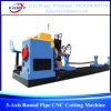 3-Axis Round Pipe CNC Cutting Machinery