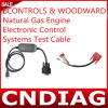 Econtrols & Woodward Natural Gas Engine Electronic Control Systems Test Cable