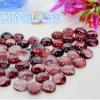 Garden Flat Round Glass Beads