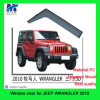 Popular Window Visor Car Accessories for Jeep Wrangler 2010