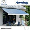 CE Approved Balcony Electric Polyester Retractable Awning B1200