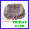 High Quaulity and Comfort Coral Velvet Dog Cat Pet Beds (WY161042A/B)