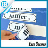 Custom Text Printing Translucent White Adhesive Double-Sided Sticker