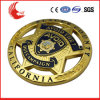 New Products Custom Zinc Alloy Plating Gold Pin Badge
