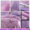 Disperse Bed Sheet of Jacquard Silk Satin Fabric