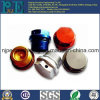 High Precision Anodized Aluminium CNC Machining Pipe Plug