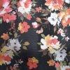 Flower Printed Lizard Animal Skin Embossed Synthetic PU Bag Leather