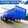 Used 40foot Second-Hand 600mm Side Wall Cargo Flatbed Semi Trailer