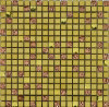 Building Material Luxuy Style Crystal Mosaic Tile Mixed Stainless Steel (FYMF1009)