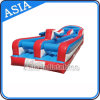 Amusement Inflatable Bungee Run Game with Basketball Hoop