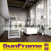 White Aluminium Simplify Balustrade in House