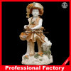 Baby Colorful Marble Statue Garden Docoration Sculpture