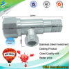 Stainless Steel Bathroom Faucet Angle Valve for Bathroom and Kitchen