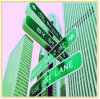 Aluminum Suspended Road Directional Sign Plate