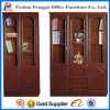 High Quality Book Filing Cabinet with Glass Doors