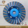 M14 Connection Diamond Cup Wheel for Stone Grinding
