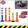 Road Security Flexible Car Parking Post Traffic Safety Bollard