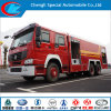 Sinotruk 6X4 Water and Foam Fire Truck