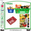 Plastic Single Handle Hand Carry Shopping Basket