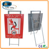 Road Traffic Sign with Foldable Stand