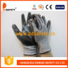 Ddsafety 2017 13G Black and White Hppe and Spandex Knitted Gloves