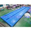 Rectangular Double Slide Inflatable Pool